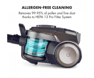 KLARSTEIN Clean King Ergo Aspirateur Cyclone aspirateur