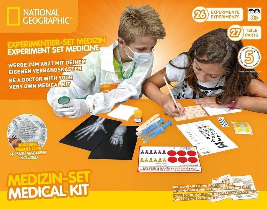 Bresser National Geographic Experiment Set Medicine