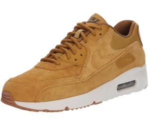 Buy Nike Air Max 90 Ultra 2.0 Leather wheat light bone gum med brown ... 258c54c2f55
