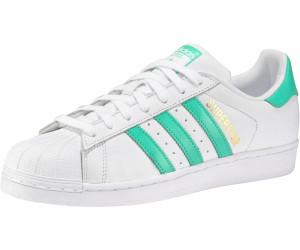 Adidas Superstar Foundation ftwr whitehi res greengold met