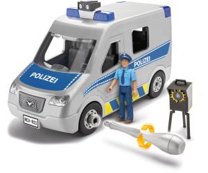 ab 4 Jahre Baukästen & Konstruktion REVELL 00811 Modellbausatz Polizei Bulli 1:20