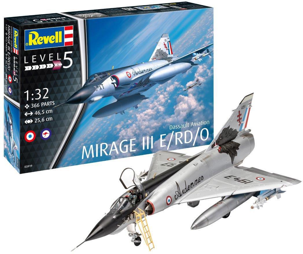 Revell Dassault Mirage III E (03919)