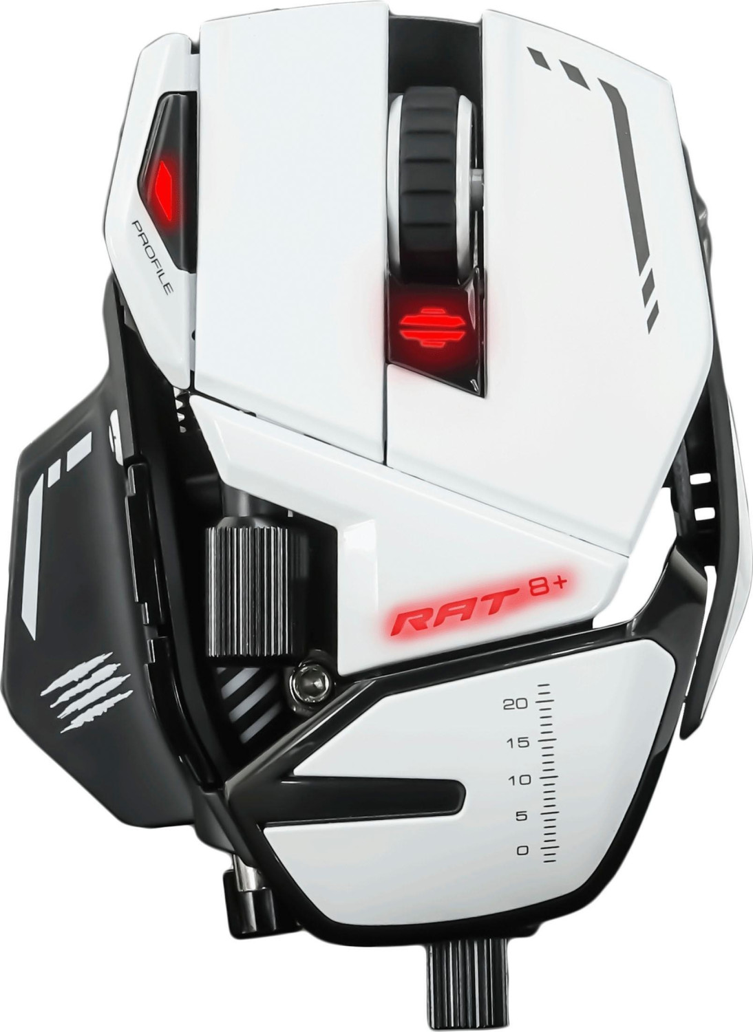 Image of Mad Catz R.A.T. 8 White