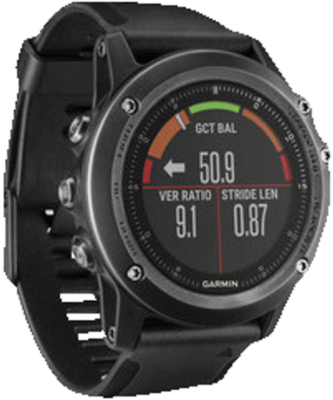 GARMIN Fenix 3 saphir HR Smartwatch, Größe 238 mm in Schwarz