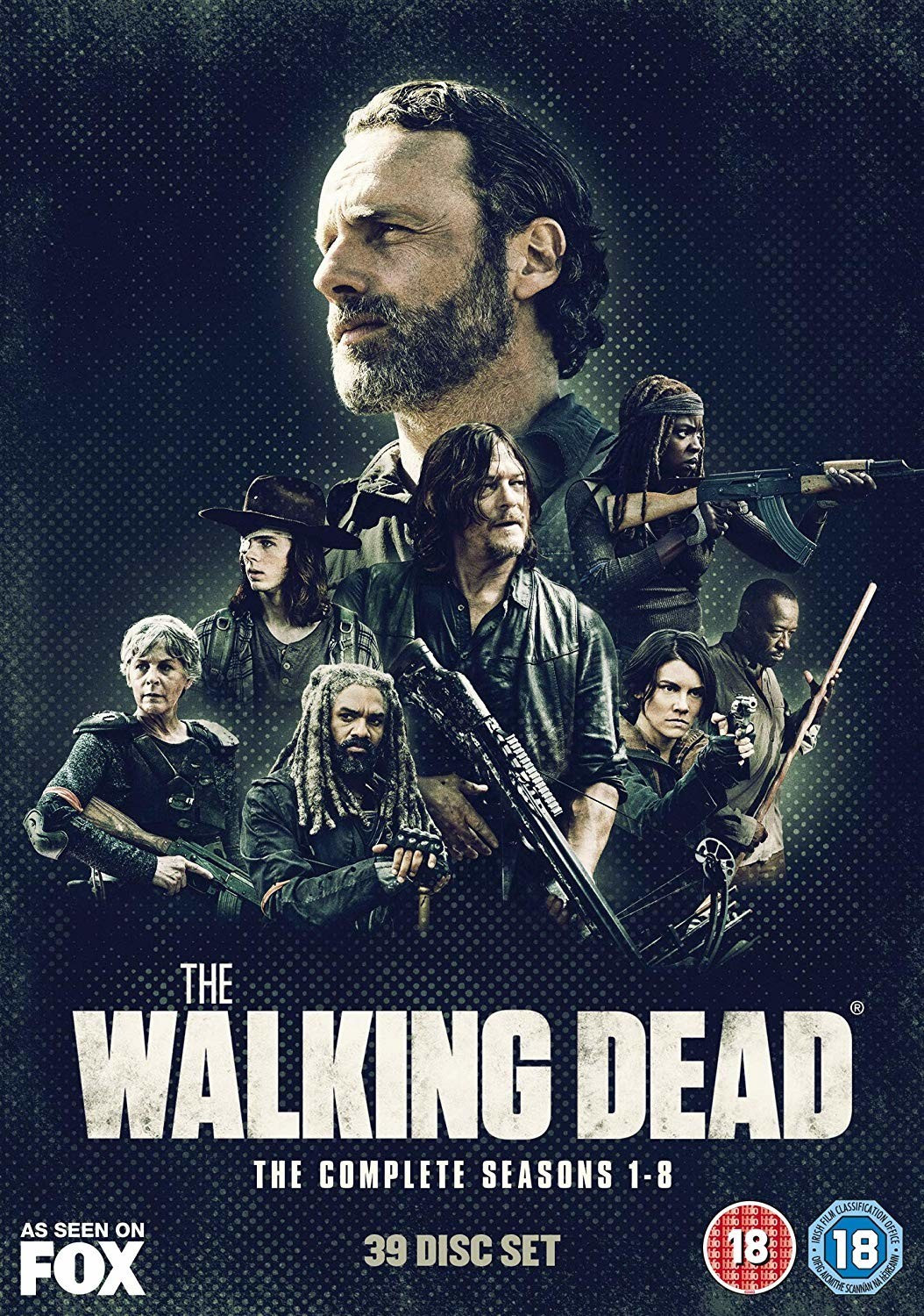 Image of The Walking Dead: Seasons 1-8 [DVD] [2018]