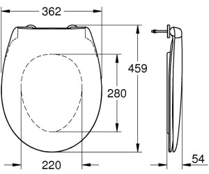 4stk M12x65mm 10,9 Klasse Kohlenstoff Stahl Senkkopf Sechskantschraube Schwarz