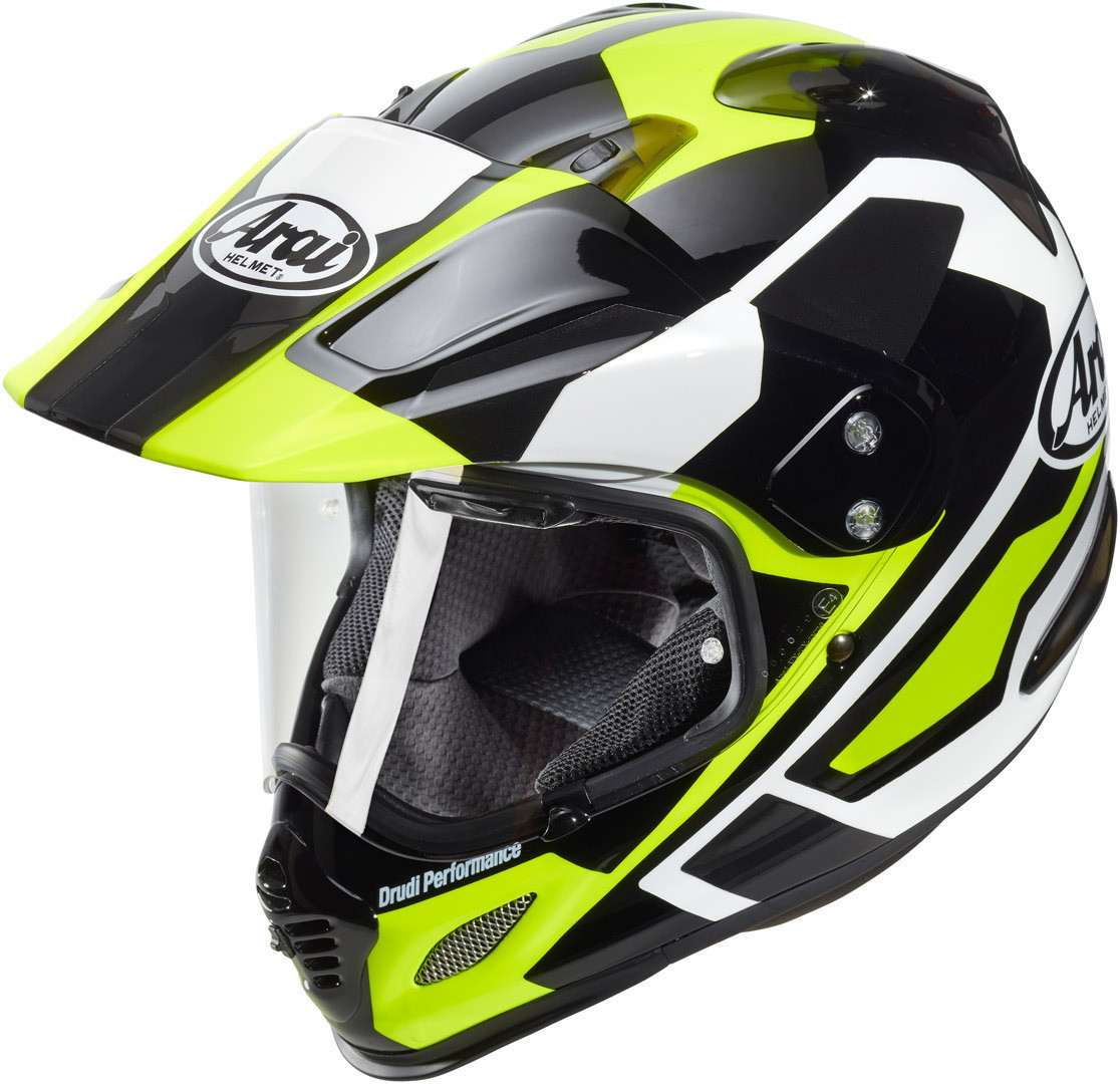 Arai Tour-X 4 Catch Yellow Helm 57/58-M Adventure Enduro GS Motorrad Helmet