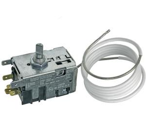 Original Thermostat Kühlschrank mit Abtaudruckknopf Ranco K60-L2068 2x4,8mm AMP