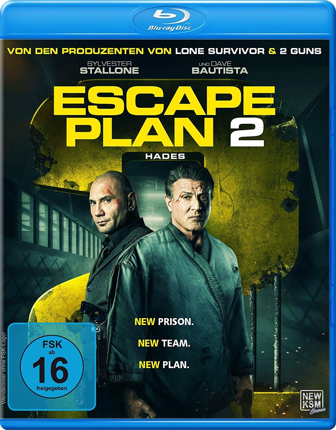 Escape Plan 2 - Hades [Blu-ray]