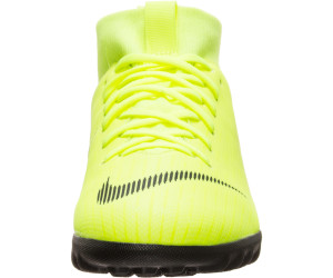 dcdd654691fd Buy Nike Jr. MercurialX Superfly VI Academy volt/ black from £59.95 ...
