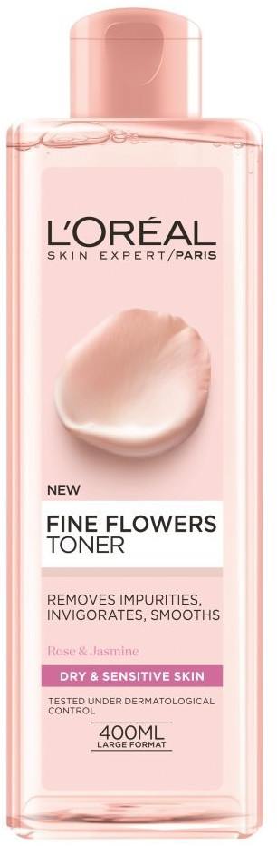 Image of L'Oréal Fine Flowers Toner normal and mixed skin (400 ml)