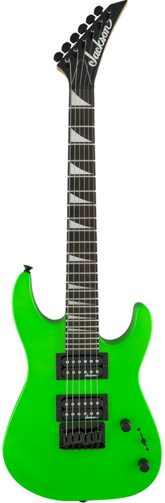 Image of Jackson JS1X Dinky Minion Neon Green
