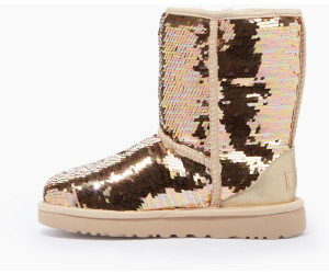 dfcb90cfc9 Buy UGG Classic Short Sequin gold combo from £127.83 – Best Deals on ...