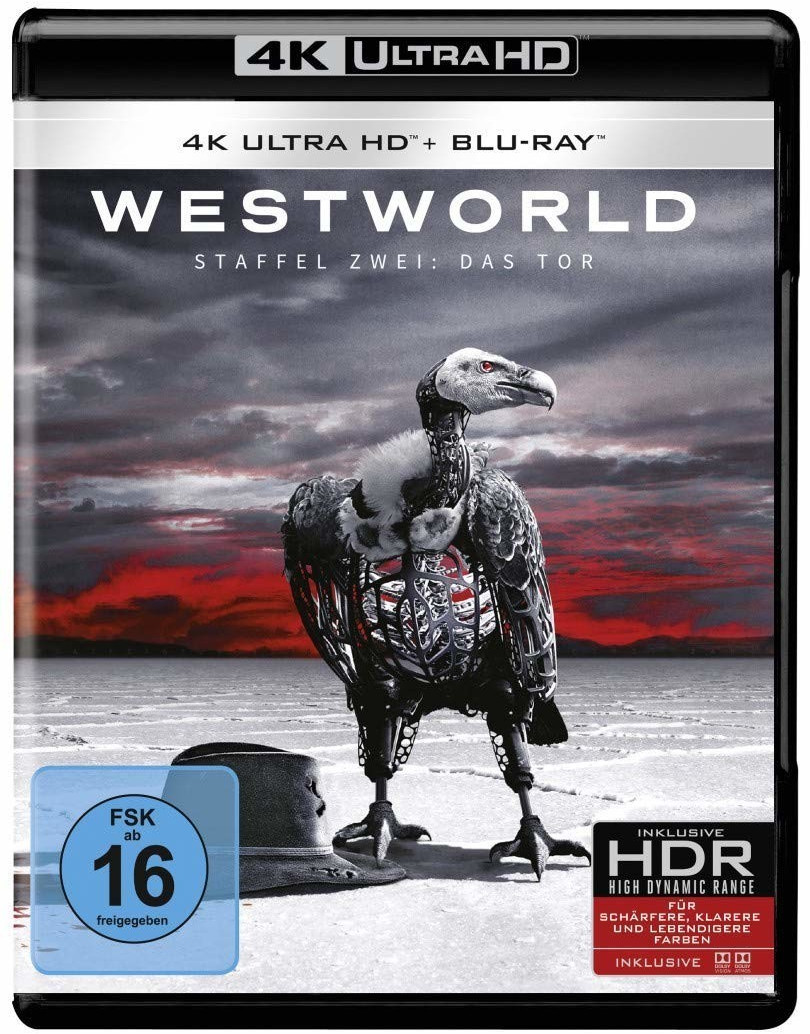 Westworld - Staffel 2: Das Tor (4K Ultra HD) [Blu-ray]