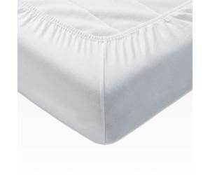weiß Spannbettlaken »Jersey« Größe mit Rundumgummizug 1x140//200 cm Farbe