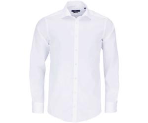 Herrenmode Venti Hemd Rot Uni Langarm Slim Fit Tailliert
