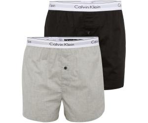 Calvin Klein 2 Pack Slim Fit Boxershorts Modern Cotton