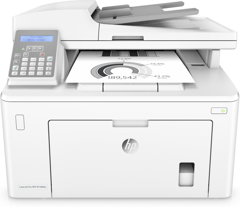 Multifuncion hp laser monocromo laserjet pro m148fdw fax/ a4/ 28ppm/  4PA42A#B19