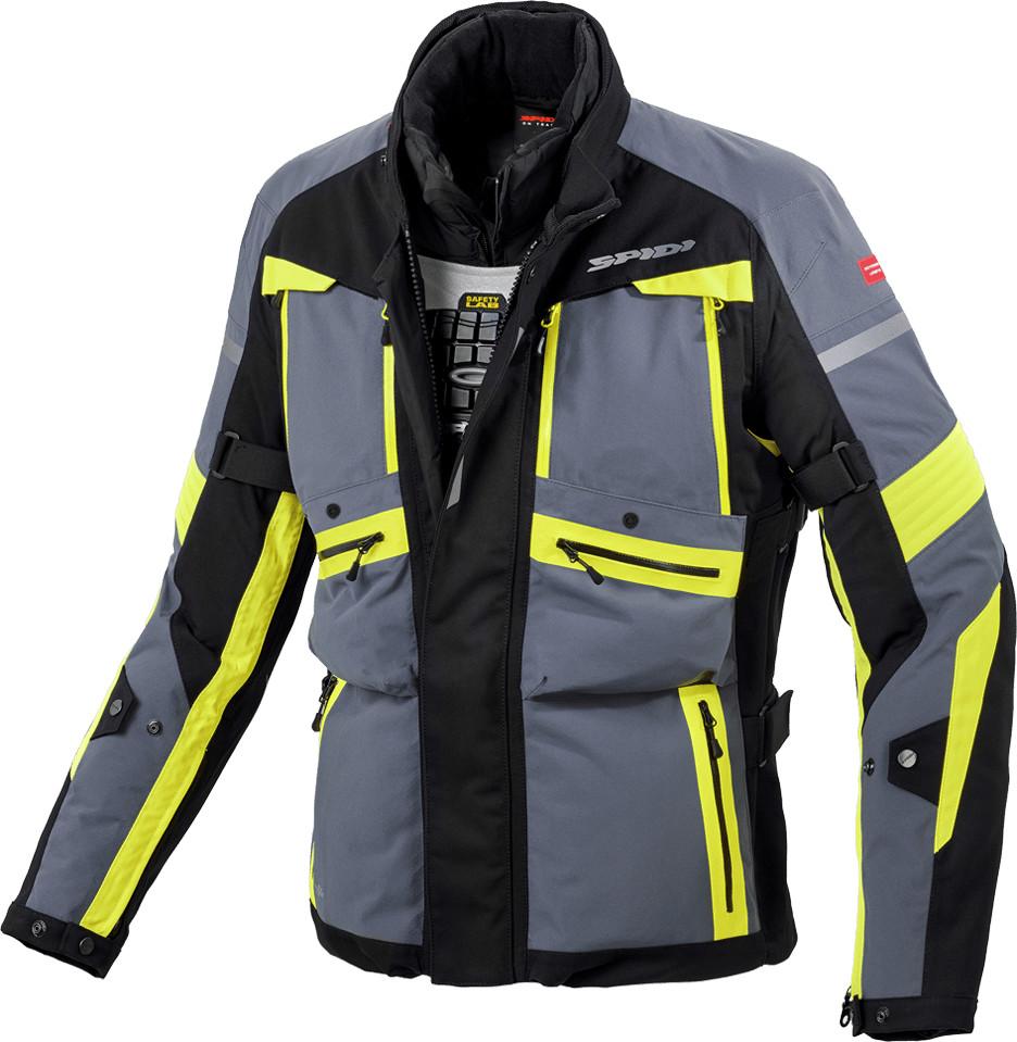 Spidi Globetracker H2Out Jacket Black / Yellow