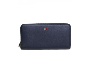 Tommy Hilfiger Basic Leather Lrg Za Wallet Tommy Navy Aw0aw06294