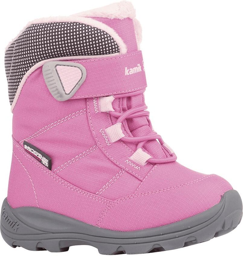 Kamik Stance Chaussures Enfants Bottes D/'Hiver Boots Bottes Charcoal Lime nf9125-cha