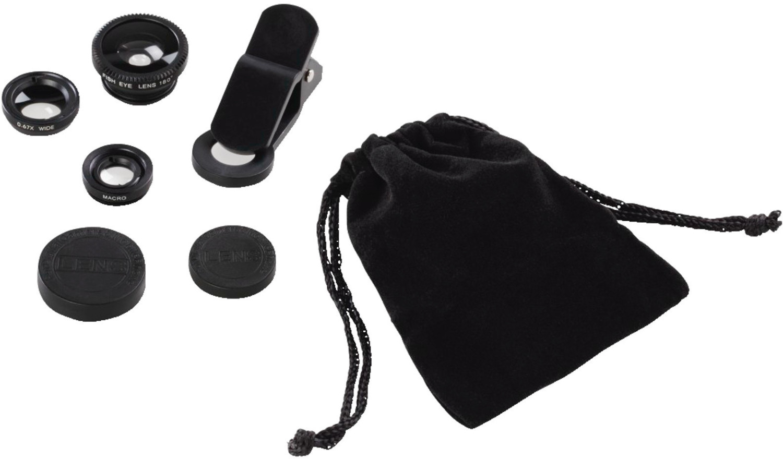 Hama 3in1-Objektiv-Set Uni für Smartphones und Tablets