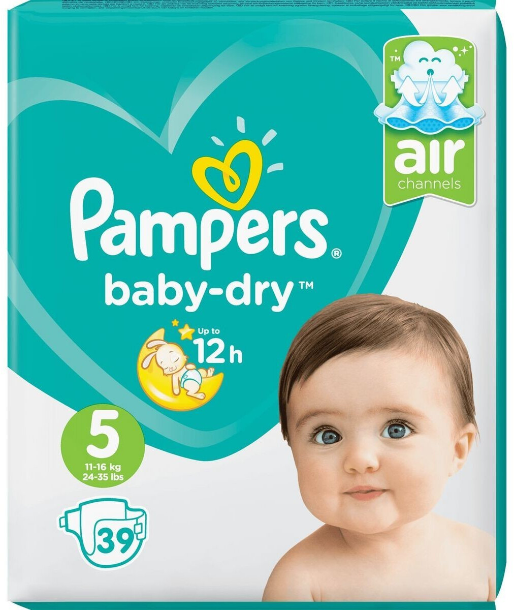 Image of Pampers Baby-Dry Junior Taglia 5 (11-25 kg)