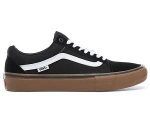 Vans Old Skool Pro Shoes Black White Gum |