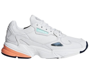 Adidas Falcon Women crystal white/crystal white/easy orange ...