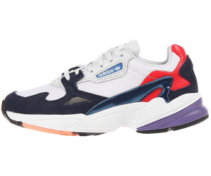 on feet images of sneakers for cheap many styles Adidas Falcon Women crystal white/crystal white/collegiate ...