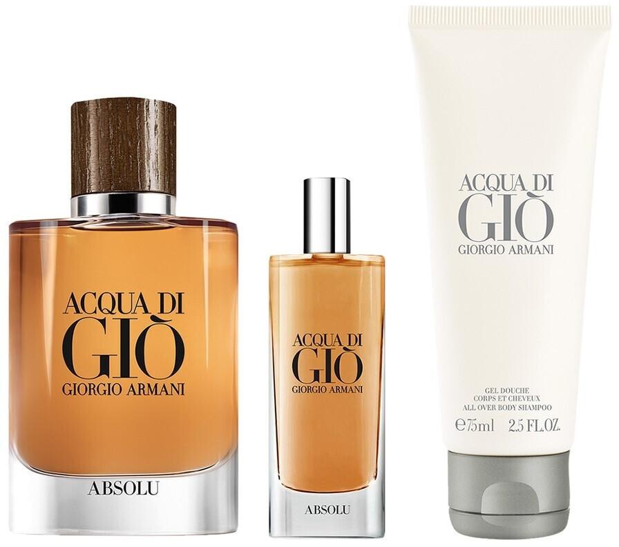Image of Giorgio Armani Acqua Di Gio Absolu Set (EdP 75 ml + EdP 15 + SG 15ml)