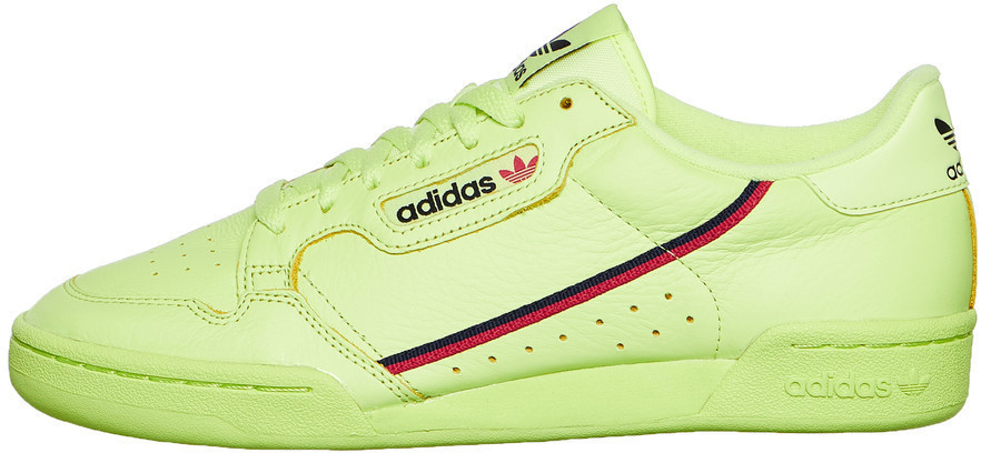 on sale 857ed cdb61 Adidas Continental 80 semi frozen yellowscarletcollegiate navy au  meilleur prix sur idealo.fr
