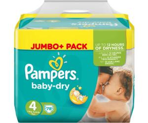 116 Höschen Windeln 4 9-15 kg Pampers Baby-Dry Pants XXL Pack Gr 4er Pack