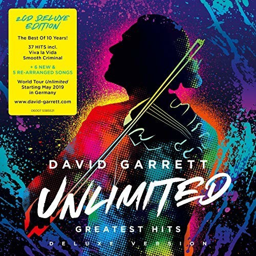 David Garrett - Unlimited - Greatest Hits (Deluxe Edition) (CD)
