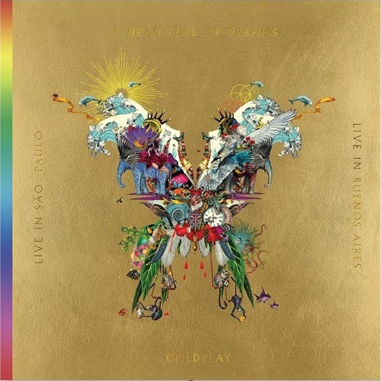 Coldplay - Live in Buenos Aires / Live in Sao Paulo / A Head full of Dreams (CD + DVD)