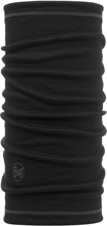 Buff 3/4 Lightweight Merino Wool solid black