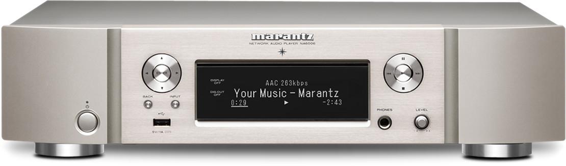 Marantz NA6006 plateado-dorado