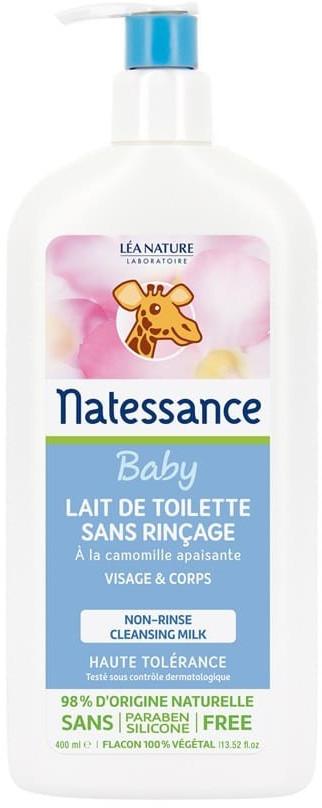 Natessance Baby cleansing milk (400ml)