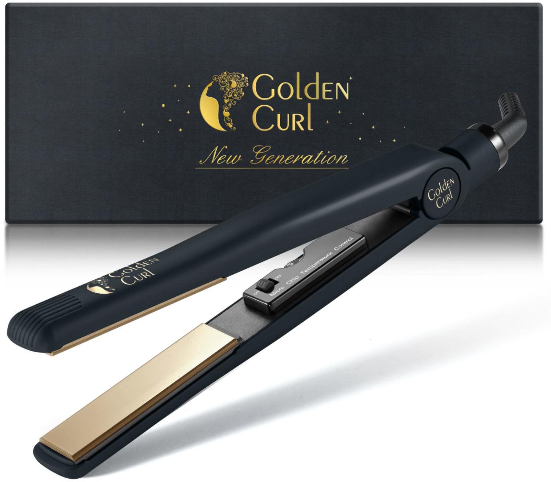Image of Golden Curl Titanium Plate Straightener