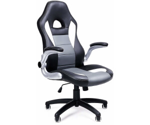 SONGMICS Racing Stuhl B/ürostuhl Gaming Stuhl Chefsessel Drehstuhl PU schwarz 38 x 38 x 38 LSF101 OBG62B /& Faltbarer Sitzhocker Aufbewahrungsbox belastbar bis 300 kg schwarz Lederimitat