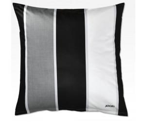 Kissenbezug Mako-Satin Lines 4055-Farbe schwarz//weiß 80//80 cm JOOP