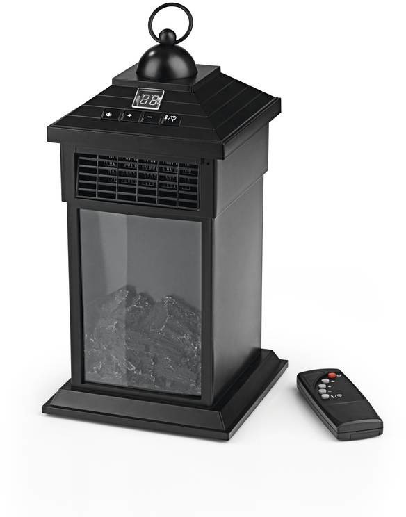 EASYmaxx LED-Kamin Laterne (03438)