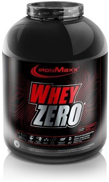 IronMaxx Whey Zero 2270g Banana Yoghurt