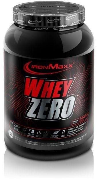 IronMaxx Whey Zero 908g milk chocolate