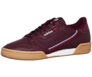 c6b0c27d7cdb00 Adidas Continental 80 collegiate burgundy scarlet hi-res aqua ab 65 ...