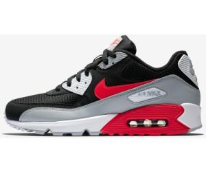 Herren Nike Air Max 90 Essential Trainer Olive Crimson