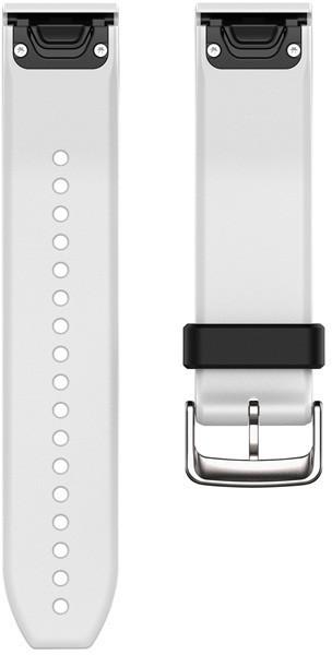 Garmin QuickFit 22 Watch Strap Silicone white