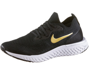 5fba2987e86ba Buy Nike Epic React Flyknit Women black metallic platinum vast grey ...