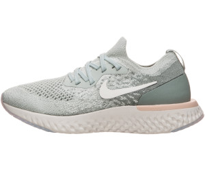 93ee906c30808 Buy Nike Epic React Flyknit Women light silver mica green crimson ...