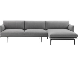 Awesome Muuto Outline 3 Sitzer Mit Chaise Longue Ab 4 295 00 Dailytribune Chair Design For Home Dailytribuneorg